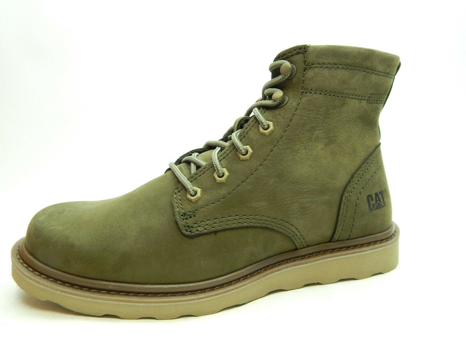 CATERPILLAR MEN CHRONICLE LACE UP BOOT DARK OLIVE P722101