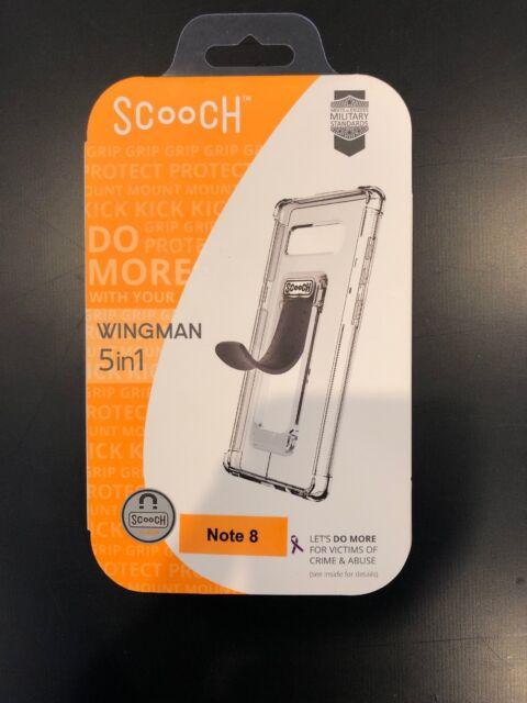 buy popular 6c046 052a6 OEM Scooch Wingman 5 in 1 Clear Case for Samsung Galaxy Note 8