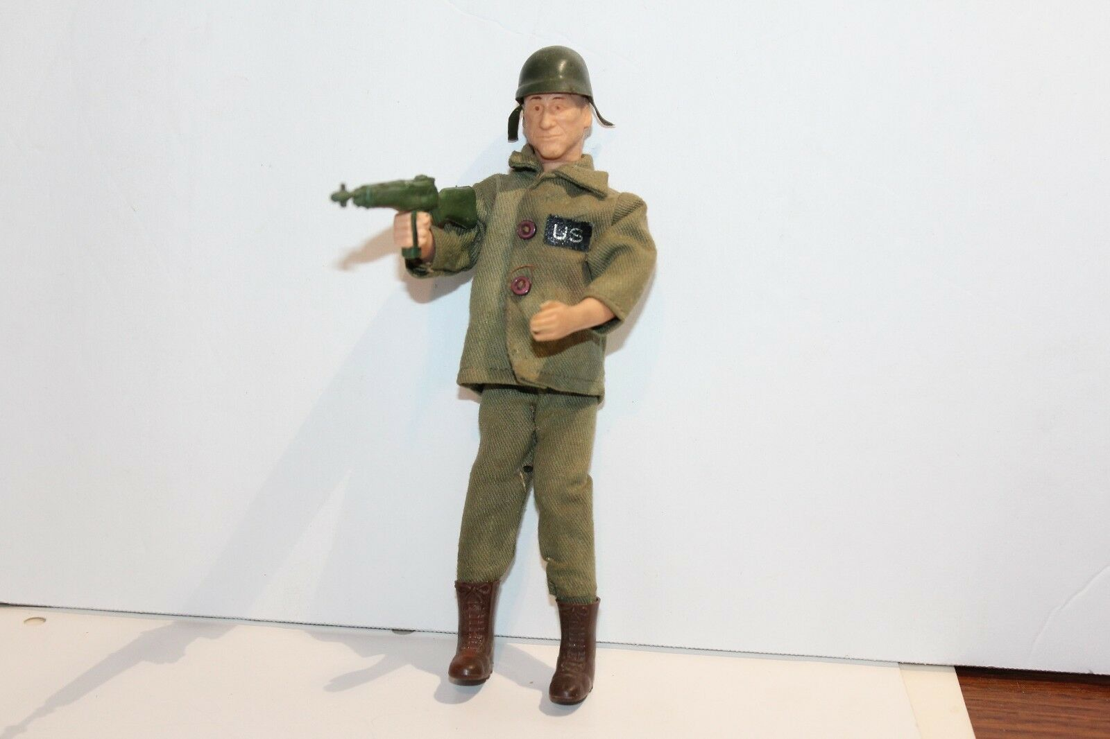 VINTAGE 1966 TOPPER TIGER ARMY SOLDIER TEX in UNIFORM WITH accessories