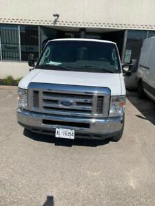 2012 FORD E-250, **EXTENDED BODY**  ONLY 77964KM'S