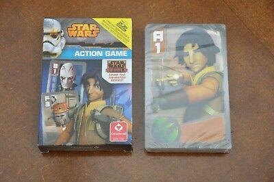 """numérique gratuit histoire livre 2 X Star Wars /""""Jeu d/'action/"""" Happy Families Jeu de carte"""