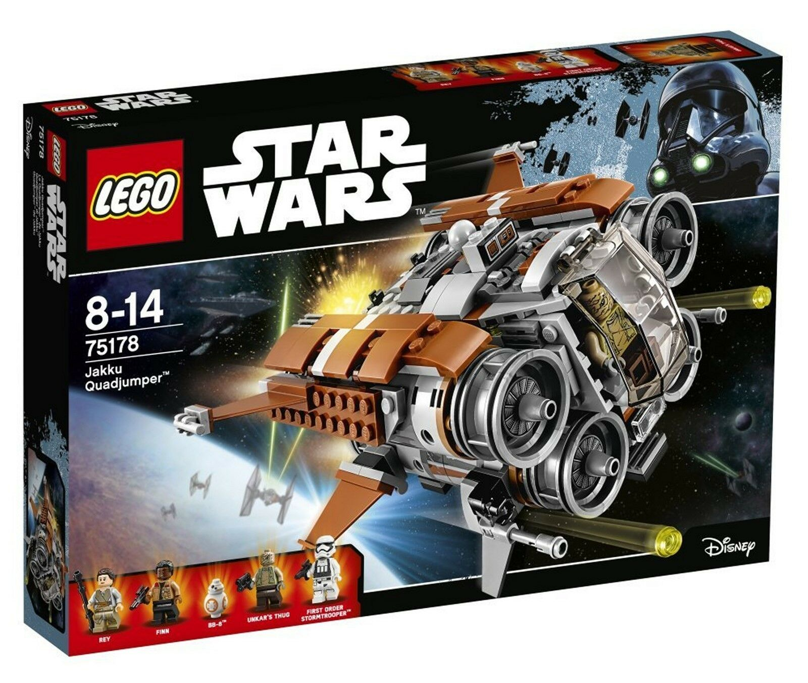 LEGO ® Star Wars ™ 75178-Jakku quadjumper ™ - 457 pièces Nu & neuf dans sa boîte