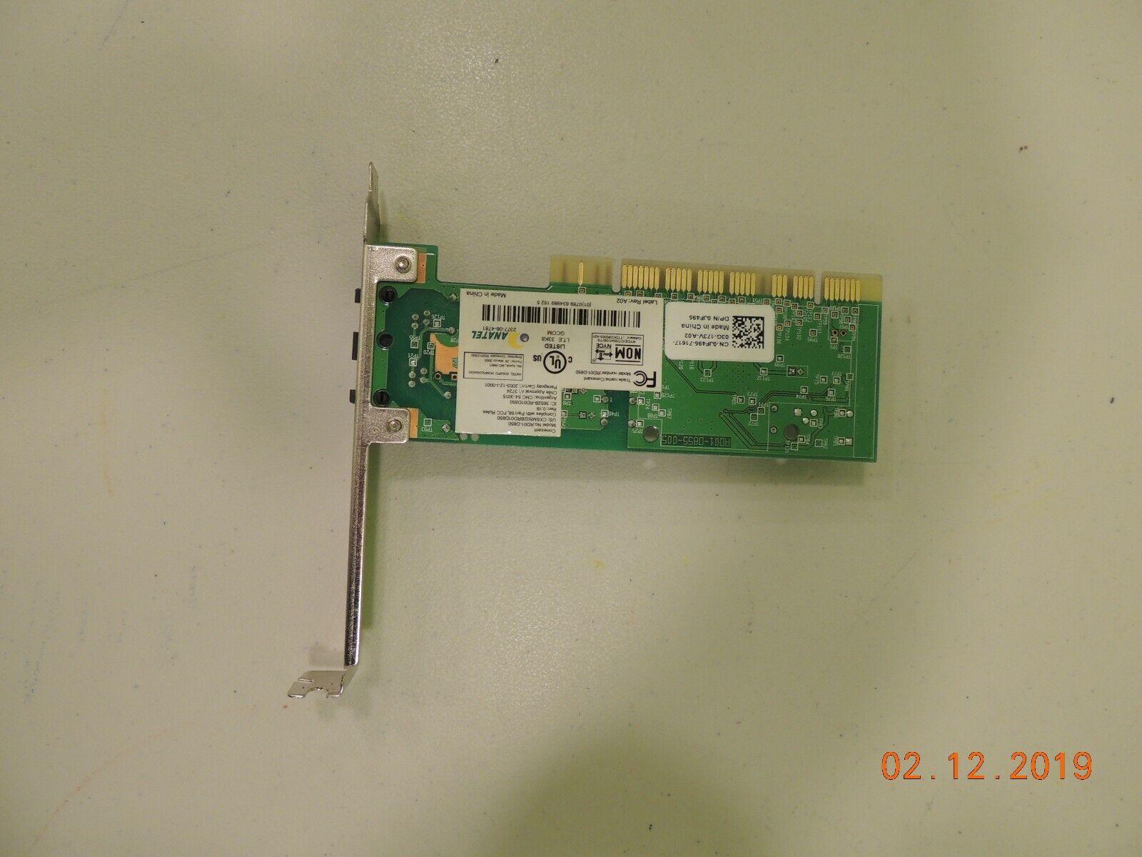 Genuine Dell RD01-D850 Conexant Desktop PCI 56 Mbps Fax Modem 0C3776