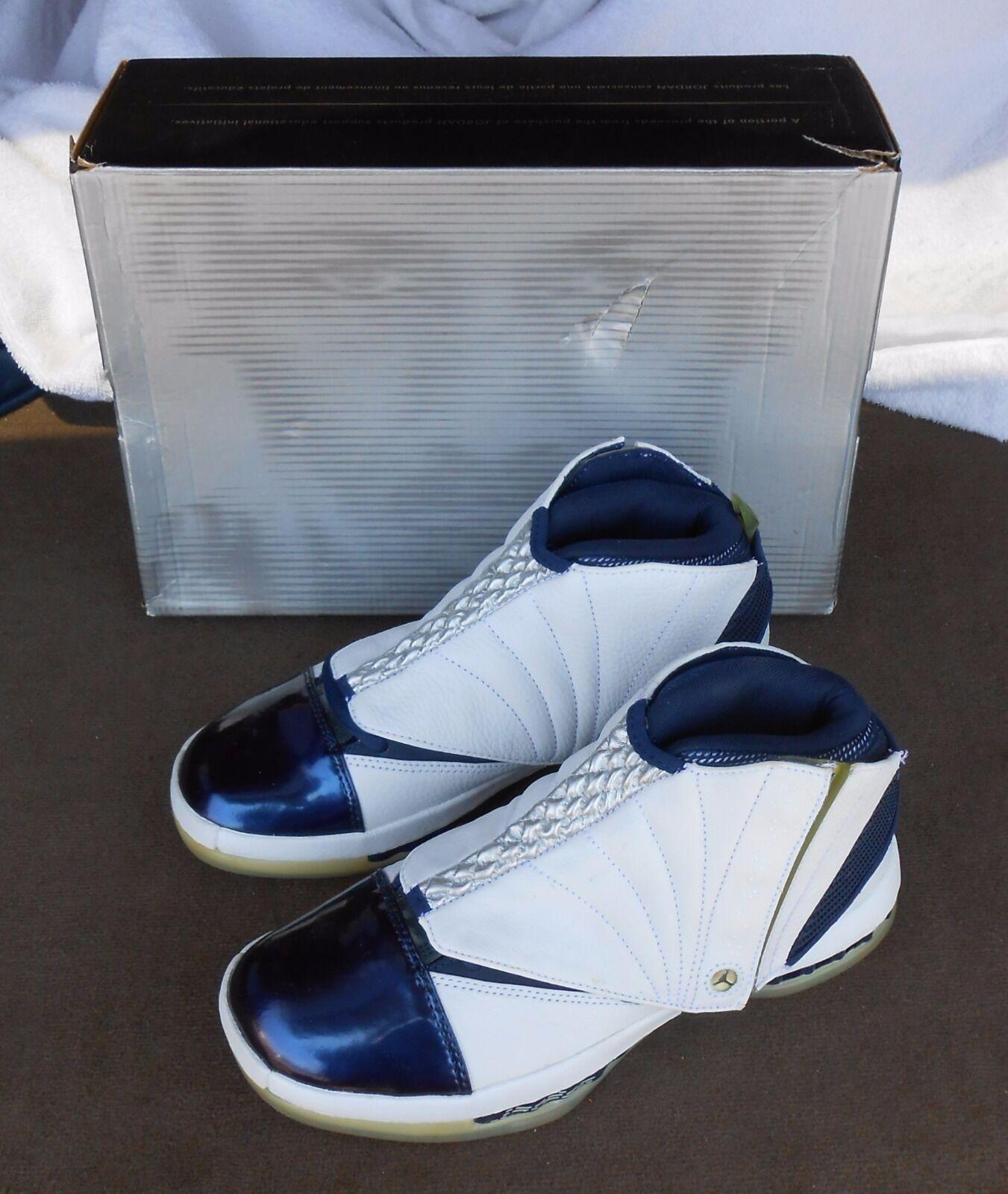 1990 Nike Nike 1990 Air Jordan VXI tamaño 7,5 Blanco / Midnight Navy zapatillas de baloncesto New & caja estacionales de recortes de precios, beneficios de descuentos ee6a05