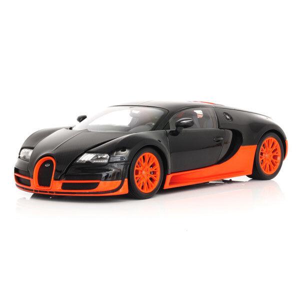 Minichamps 1.18 skala Bugatti Veyron Super Sport bilbon   orange 2010   11