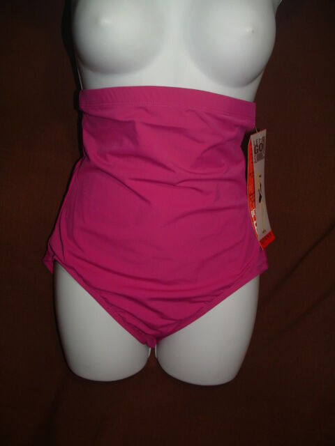 a4dc68f3dcf15 NEW SPANX LET'S GO SLIMMING SHAPEWEAR BE YOU CAN SWIM IN 1366 HI-RISE PANTY