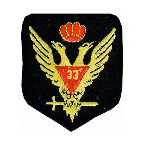 SCOTISH RITE 32 ND DEGREE CROWN UP WINGS EAGLE HSE