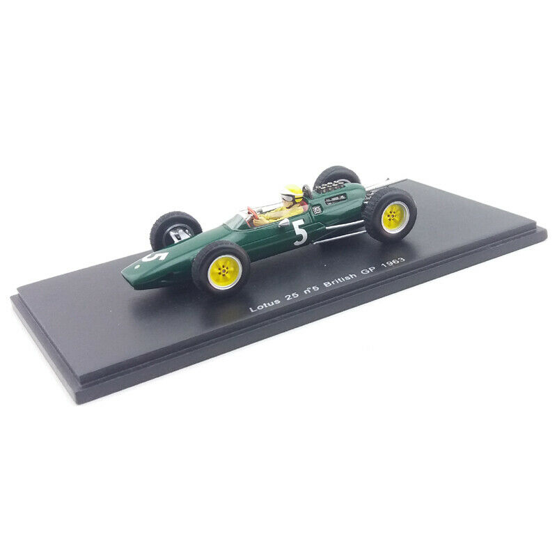 1963 Lotus 25 -  Trevor Taylor - British GP - 1 43 Spark Models  confortable