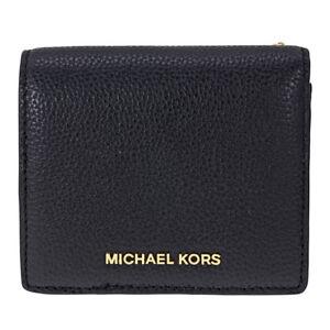7293d7030c149b Michael Kors Mercer Black Leather Carryall Card Case 32f6gm9d1l for ...