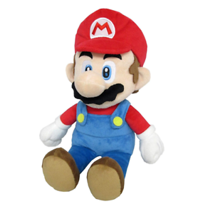 Christmas Mario Png.Details About Jumbo Mario Super Mario Plush Official Doll 15 Usa Christmas Gift