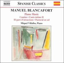 Manuel Blancafort: Piano Music, Vol. 3, New Music