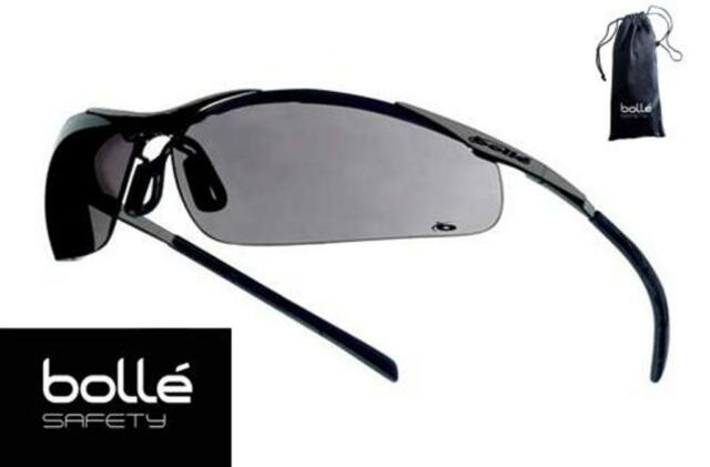 0748f9e1eff3 Bollé - Bolle Safety Glasses Contour Gray Lens - Metal Frame  40050 - With  Pouch