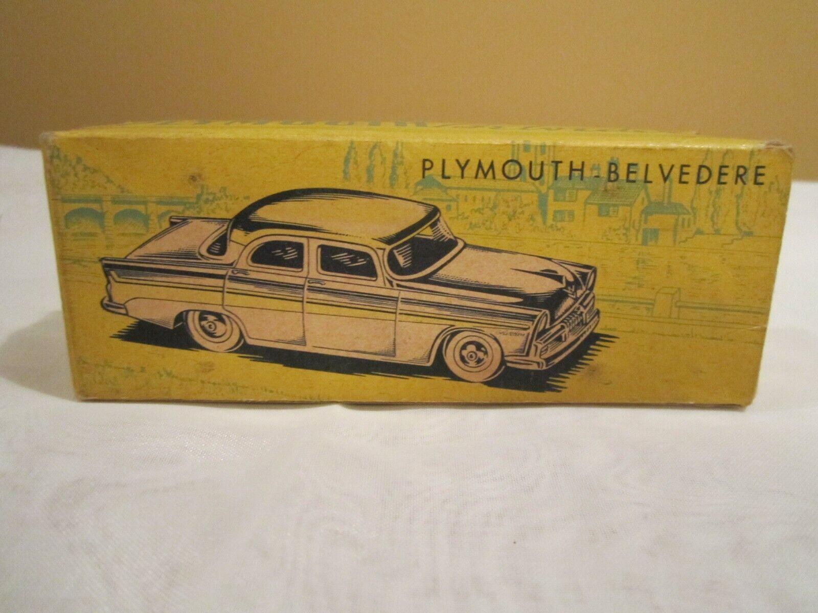 Ahorre 60% de descuento y envío rápido a todo el mundo. CIJ Plymouth Belvedere Belvedere Belvedere Caja sólo como nuevo  tienda de venta en línea