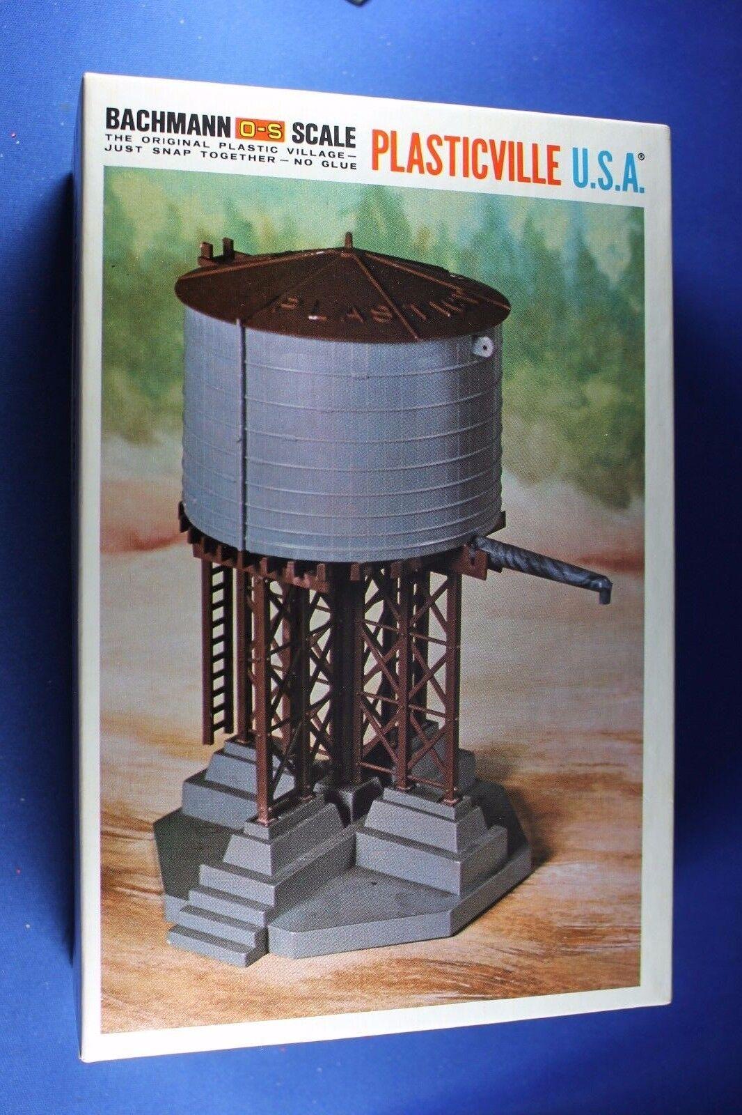 Plasticville - O-O27 - 1916 Water Tank Tank Tank - EXCELLENT - Original Complete BOX 2b7b4a