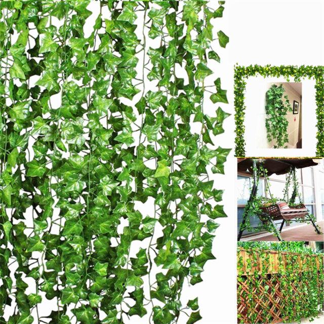Beautiful Trailing Faux Willow Garland Ivy Vine Silk Flower Leaves Wedding Decor