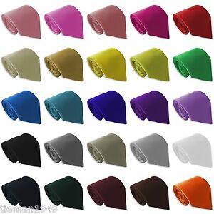 Plain-Italian-Satin-Wedding-Ties-Pick-your-own-colour