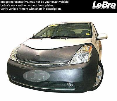 TOYOTA PRIUS 2006-2009 Car Mask Bra Lebra 2 piece Front End Cover Black Fits