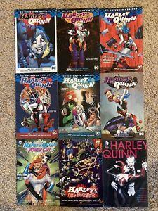 TPB-Harley-Quinn-Graphic-Novel-Lot-Rebirth-Omnibus-Vol-1-2-3-4-5-6-Batman-Comics