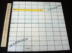 Vintage 1930s/50s era Spare Board for Gibson Wargame Dover Patrol.  (787)