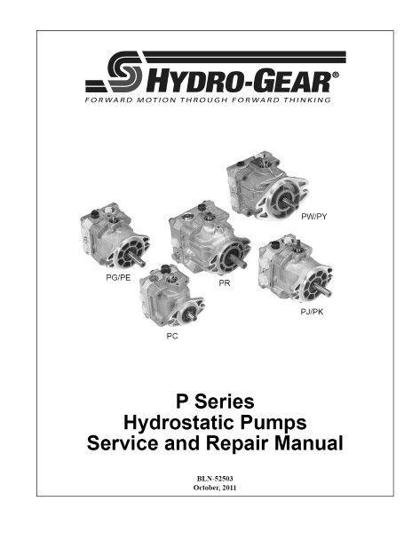 Bomba PG-1HQQ-DN1X-XXXX 119-7375 Hydro Gear fabricante de equipos originales para la transmisión Transaxle o