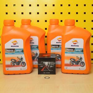 Honda CBR 900RR 00-03 Filtro Aceite Original Repsol Sport 10w40 Fireblade SC44 /