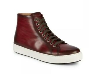 Top Sneakers Leather Lace Up