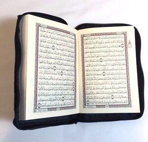 Small-Holy-Quraan-Koran-Quran-Book-Uthmani-Osmani-Script-Pocket-Size-W-Case