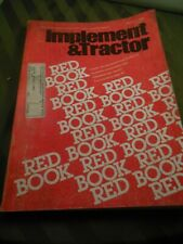 1984 Farm Tractor And Implement Red Book