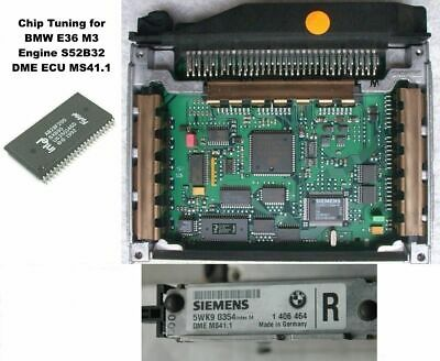 Chip for BMW M52 E39 E36 E38 2.0 2.5 2.8  ECU Siemens MS41.0  MS41.1