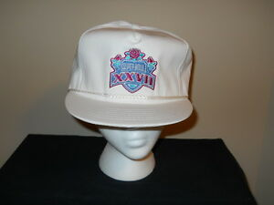 VTG-NFL Super Bowl XXVII snapback hat-Pasadena Dallas Cowboys Troy ... 916b6d047