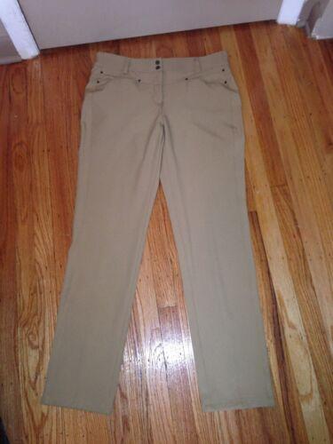 casual donna Jones da taglia 6 York Beige New Pantaloni qdBzq