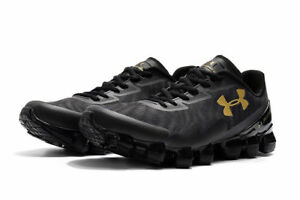 484522a14897 2019 Under Armour Scorpio 2 Mens Black Running Road Sports Shoes ...
