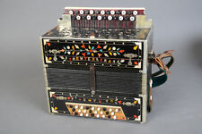 Vintage Polish Steel Reeds Accordion - 18 Bass Reeds - Fully Serviced