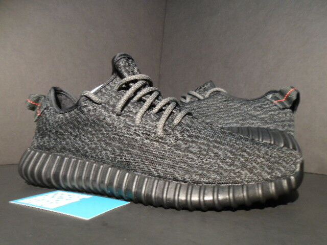 6fdb03b9d4c44 ... discount adidas yeezy boost 350 pirate black kanye west size bb5350 11  ebay 32ad8 98e40