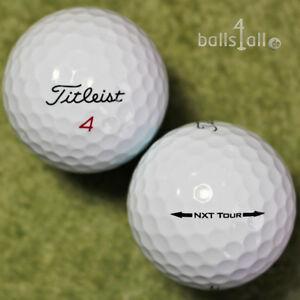 30 Golfbälle Titleist NXT Tour AAA/AAAA Qualität Lakeballs used golf balls
