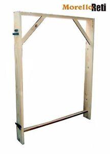 Controtelaio in legno abete per porte interne universale for Spranga universale per porte