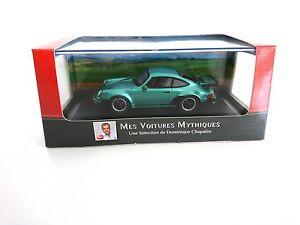 Porsche-911-Turbo-1975-1-43-LES-VOITURES-MYTHIQUES-ATLAS-CHAPATTE-DIECAST