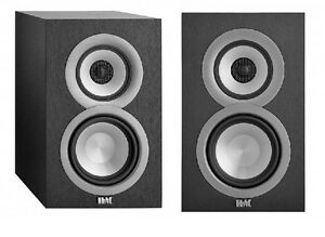 ELAC Surround Bookshelf Home Speaker, Set of 2, Black (UB51-BK)