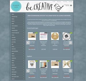 Online-Shop-zu-verkaufen-inkl-Domains-scrapbook-laden-de-amp-Kundenstamm
