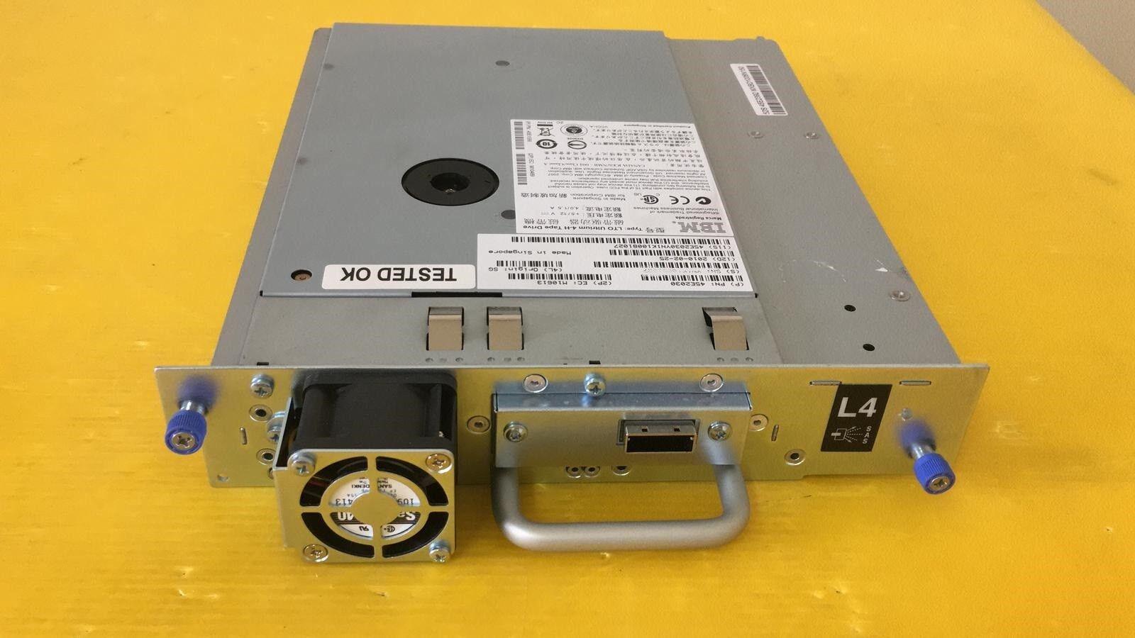 IBM 45E2030 800 1600GB Ultrium LTO-4 TAPE DRIVE YAS3 PULLED FROM IBM 3573 2UL