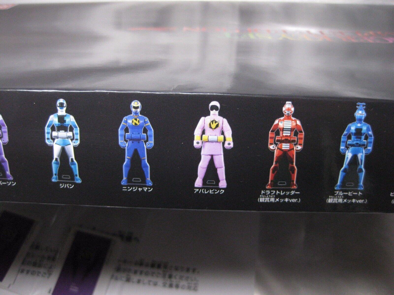 Power Rangers Rangers Rangers Super Megaforc Ranger Key Set Complete Edition Limited NEW japan 1847e8
