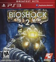 Bioshock 2 For Ps3 Game Brand Factory Sealed