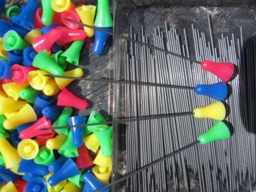 50 Stahl Darts Stahlpfeile Ersatzpfeile Nadelpfeile für Blasrohr 10mm