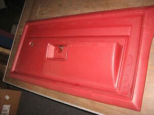 Nos Mopar 1984 86 Dodge Ramcharger Pickup Pass Door Red Interior Trim Panel Ebay