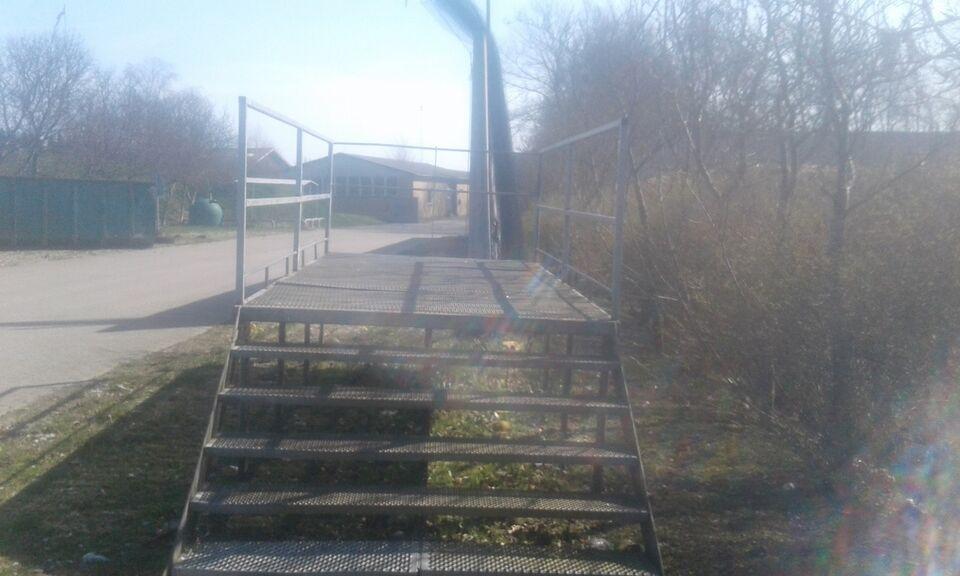 Platform / Repos galvaniseret
