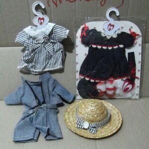 lote-2-Vestido-Muneca-Dulce-Emy-y-similar-Lesly-y-otras-Conjunto-dress-traje