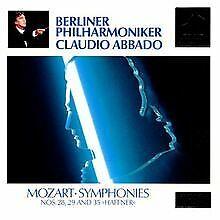 Sinfonien Nr.28, 29, 35 von Abbado, Bp   CD   Zustand gut
