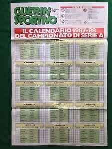 RT102-GULLIT-SCIFO-RUSH-VOLLER-CALENDARIO-1987-88-Poster-da-Guerin-Sportivo