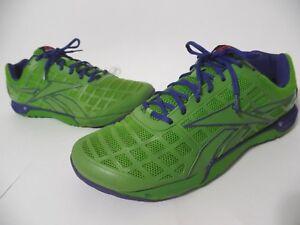 REEBOK CF 74 Men Crossfit Training Shoes Size 14 Green Blue 023501 ... 840ffc825