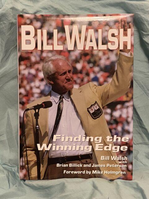Bill Walsh Finding the Winning Edge Hardcover HBDJ Like New Unread